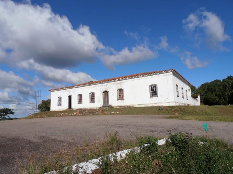 Réplica da casa em que o líder farroupilha Bento Gonçalves viveu parte da vida em Cristal