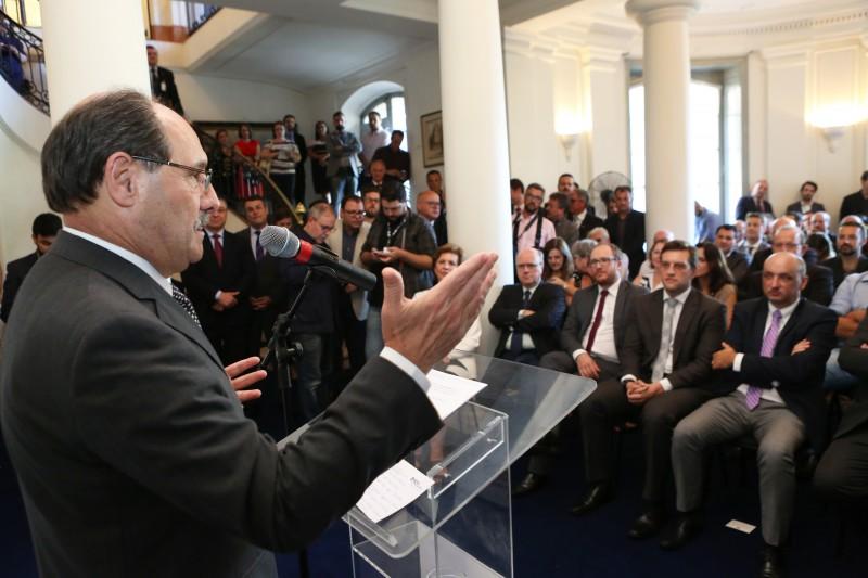 Sartori enfatizou a importância das parcerias público-privadas para reforçar combate à criminalidade