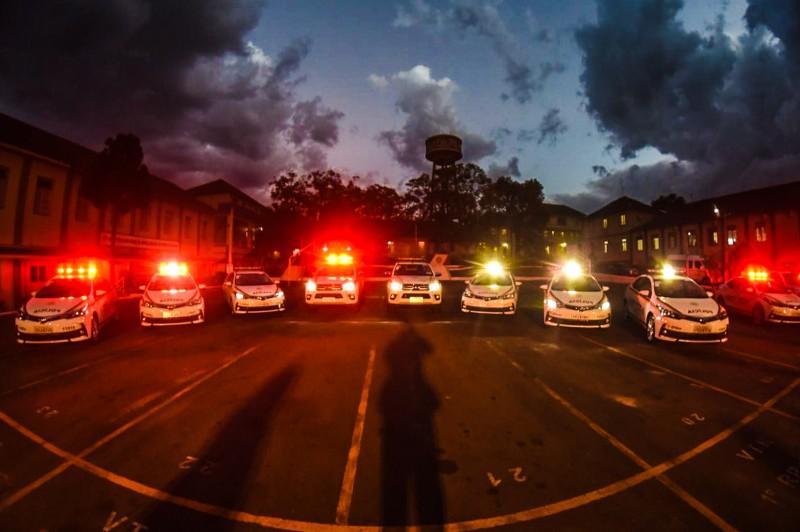 Novos veículos proporcionarão aos agentes condições de enfrentar os criminosos em pé de igualdade
