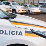 SANTA MARIA, RS, BRASIL 12.04.2018: As novas viaturas da Brigada Militar (BM) destinadas aos municípios da área de abrangência do Comando Regional de Policiamento Ostensivo (CRPO) Central foram entregues nesta quinta-feira (12), em Santa Maria. O ato ofic