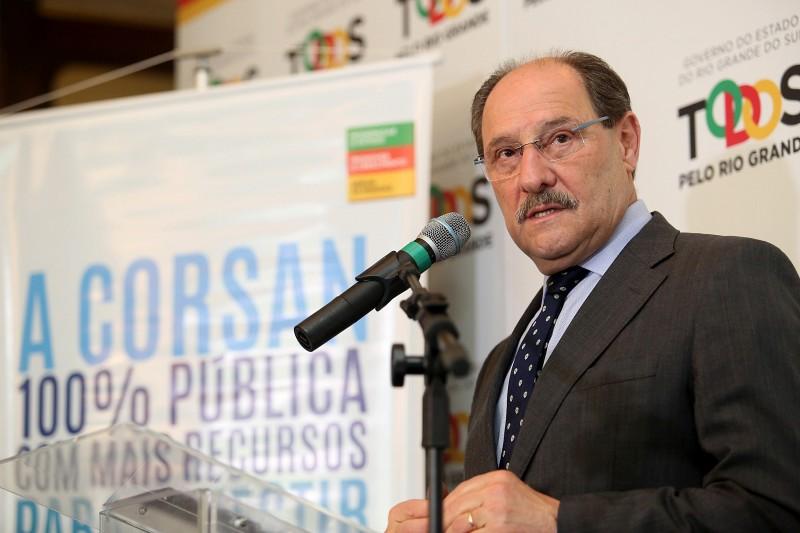 Sartori determina rapidez na análise de parceria público-privada do saneamento