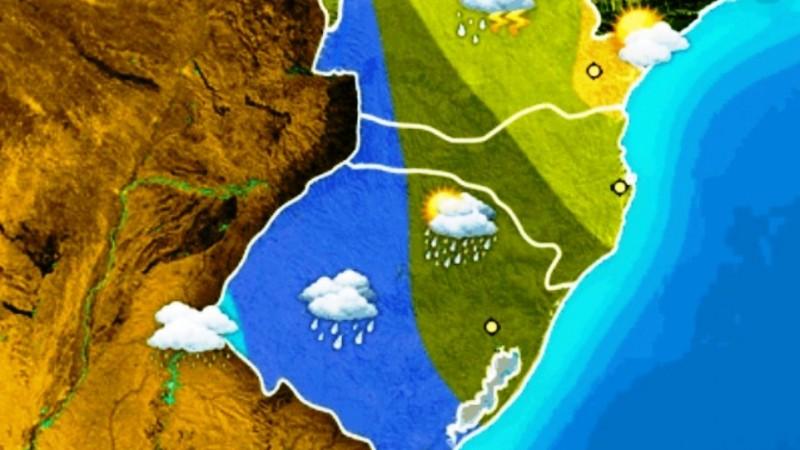A sexta-feira terá chuvas no RS, mas, no final de semana, o tempo voltará a abrir