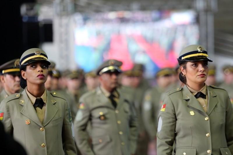 Novos sargentos aprenderam preceitos do juramento dos policiais militares