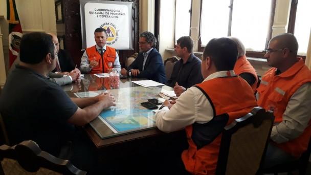 Encontro reuniu prefeitos das sete cidades com decreto de emergência homologado pelo Estado