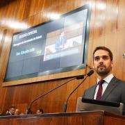 PORTO ALEGRE, RS, BRASIL, 05/02/2019 - Governador Eduardo Leite falou, na tarde dessa terça-feira (05), aos deputados e deputadas durante sessão solene no plenário da Assembléia Legislativa do Estado. Fotos: Itamar Aguiar/Palácio Piratini.