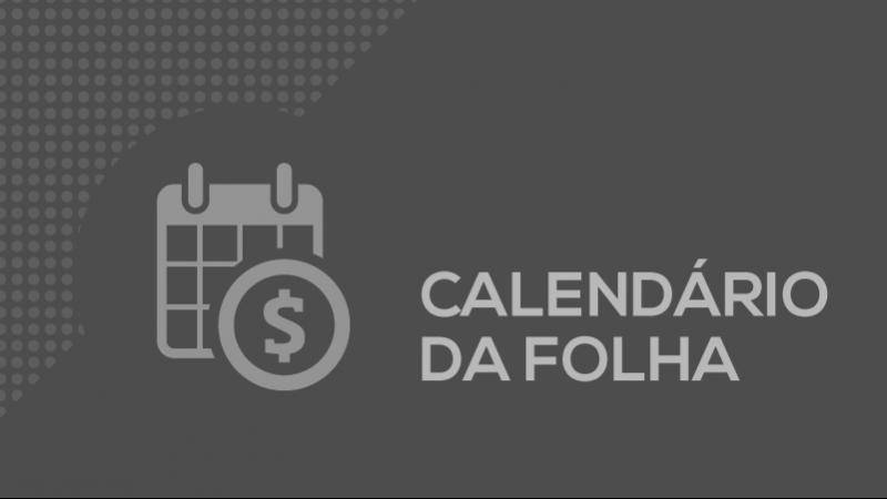 Card calendario folha pagamento