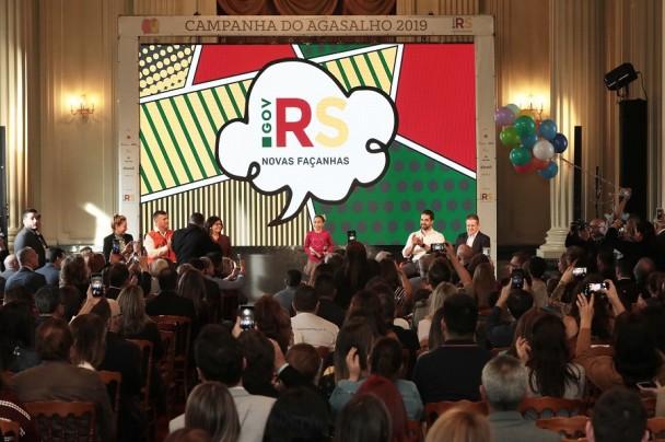 PORTO ALEGRE, RS, BRASIL, 09/05/2019 - Lançamento da Campanha do Agasalho 2019. Fotos:Itamar Aguiar/Palácio Piratini