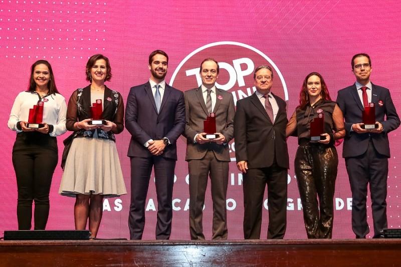 23.05.2019 Governador Eduardo Leite participou do evento Top of Mind 2019 do Grupo Amanhã na Sogipa