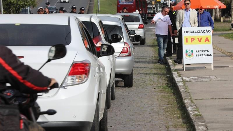blitz IPVA Porto Alegre