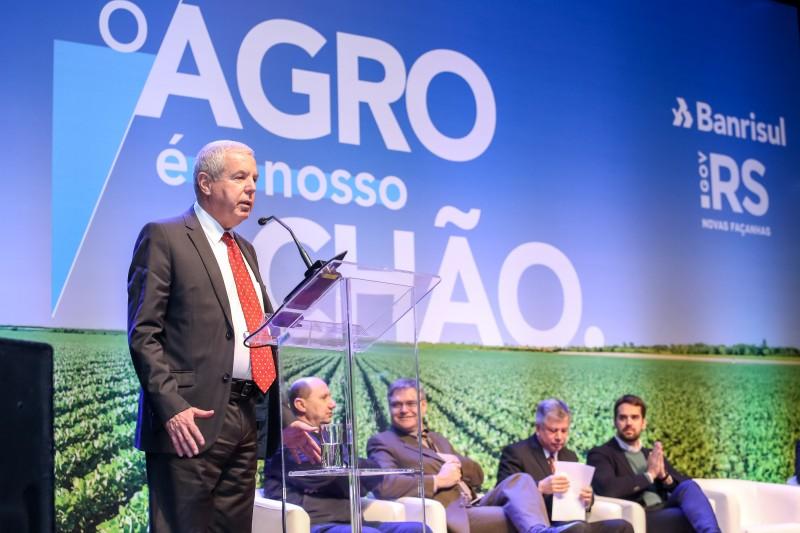 Governador Eduardo Leite participa do lançamento do AgroShow Banrisul