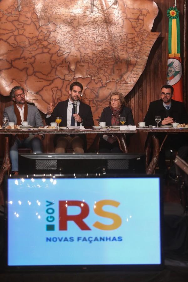PORTO ALEGRE, RS, BRASIL, 11/07/2019 - O governador Eduardo Leite apresentou, na manhã desta quinta-feira (11/7), um projeto de lei que adequa os benefícios fiscais concedidos pelo Estado.