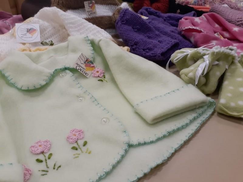 doações roupas infantis campanha agasalho