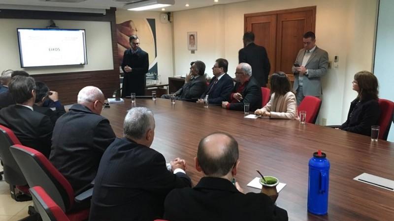Reunião TCE