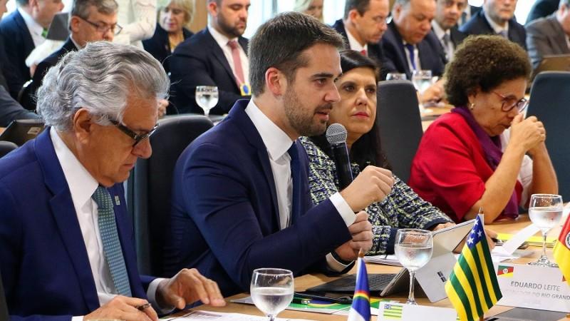 Leite no fórum nacional dos governadores Brasília