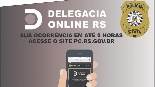 Delegacia Online campanha