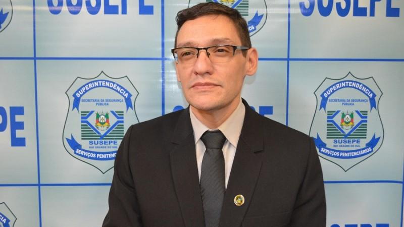 Veiga novo superintendente Susepe