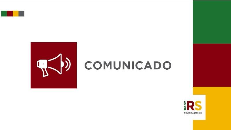 Comunicado card