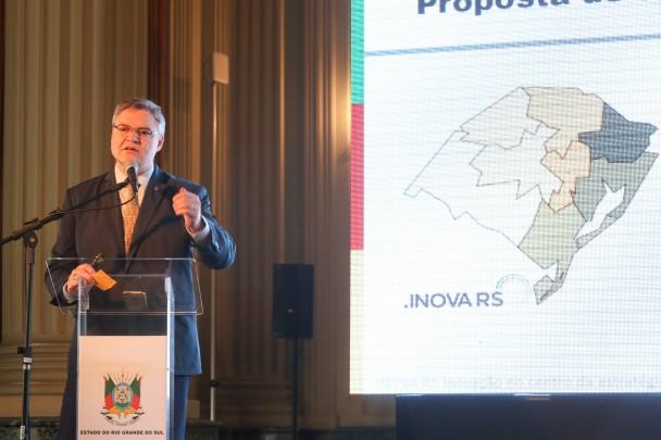 PORTO ALEGRE, RS, BRASIL, 22/08/2019 - A Secretaria de Inovação, Ciência e Tecnologia do RS (SICT) lançou nesta quinta-feira (22/8), no Palácio Piratini, o INOVA RS