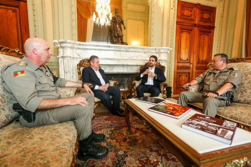 PORTO ALEGRE, RS, BRASIL, 01/11/2019 - Apresentação do novo Comandante da Brigada Militar. Fotos: Felipe Dalla Valle/ Palácio Piratini