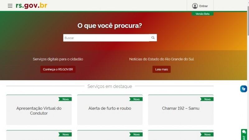 Portal rs gov