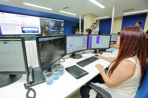 PORTO ALEGRE, RS, BRASIL, 22/11/2019 - Governador participa da inauguração do Centro de Controle Operacional da Corsan. Fotos: Gustavo Mansur/ Palácio Piratini