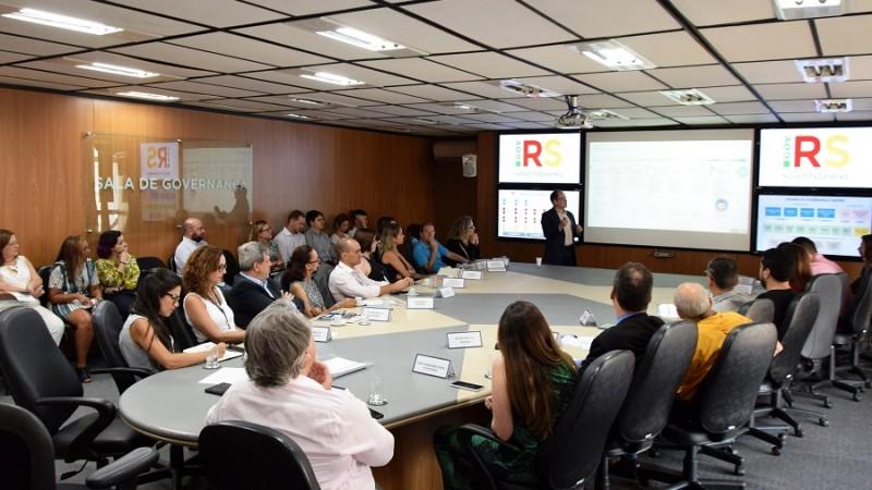 reunião SGGE projetos estratégicos