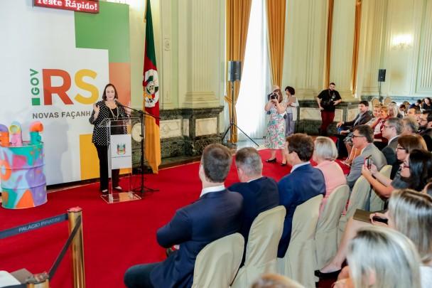 PORTO ALEGRE, RS, BRASIL, 10/02/2020 - Lançamento do Projeto Tecnologias Sociais Inovadoras de Educação e Saúde para a Prevenção da IST/AIDS em jovens no RS, em parceria com a Unesco. Fotos: Gustavo Mansur/ Palácio Piratini