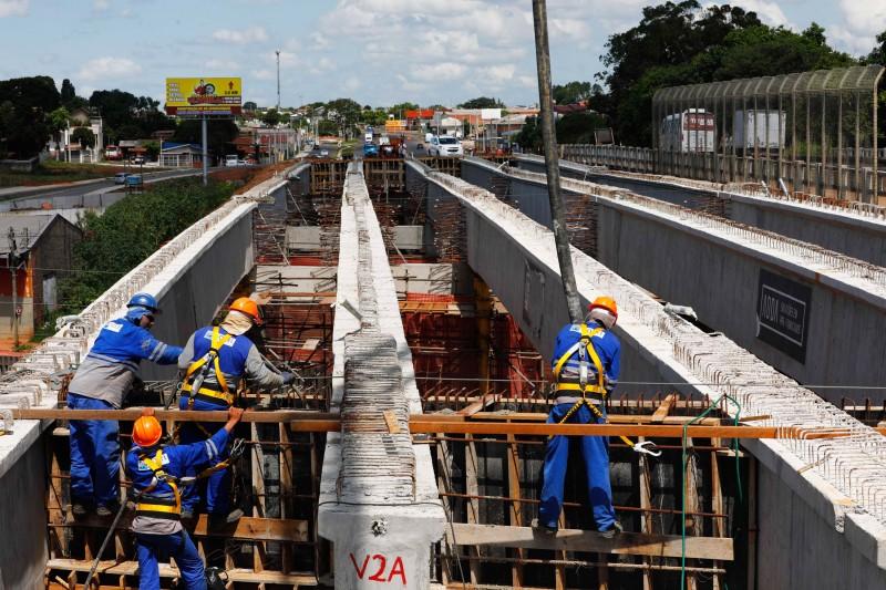 12/2/2020 - Obras da RS 118 - Acompanhamento do andamento das obras. Foto: Itamar Aguiar/Palácio Piratini.