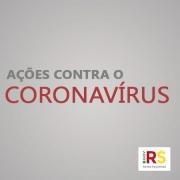 Coronavírus card ações contra 1