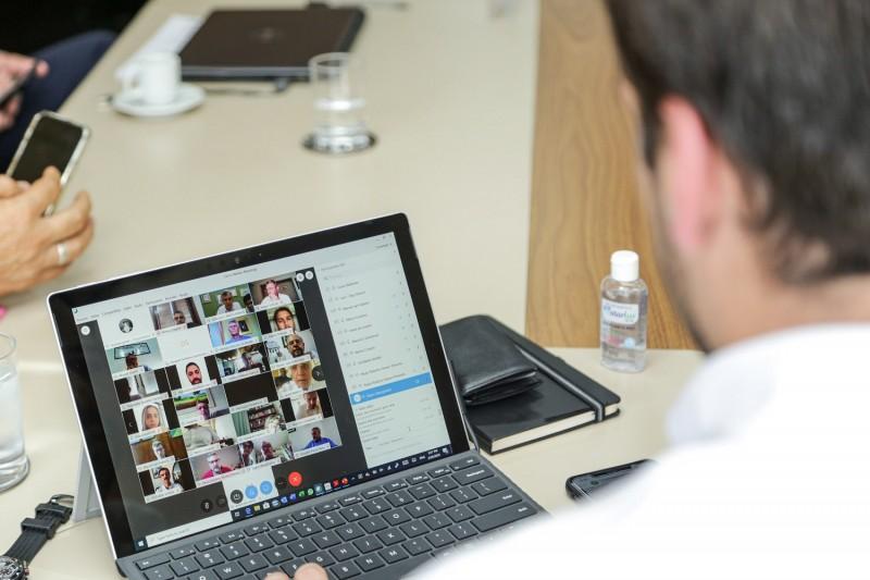 Videoconferência bancada federal 3