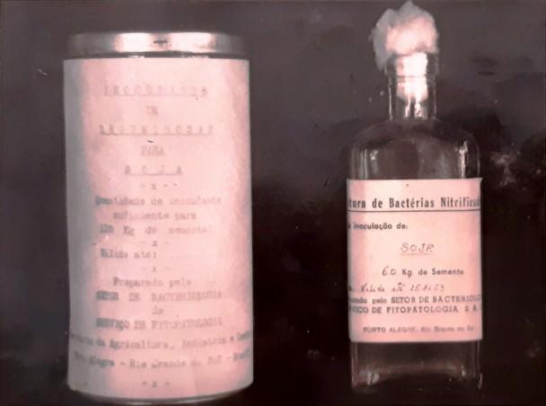 primeiro inoculante produzido no brasil em turfa 1954