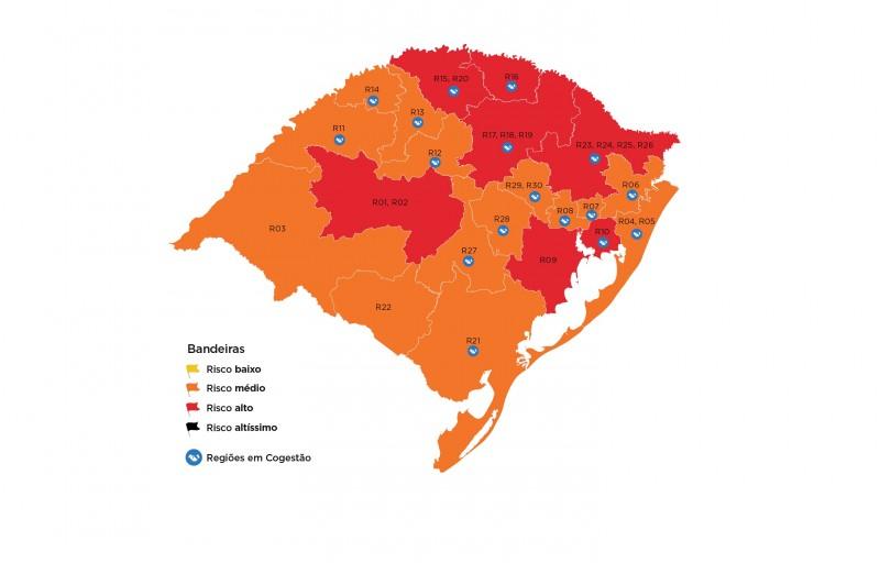 DC semana19 mapa regiões cogestão