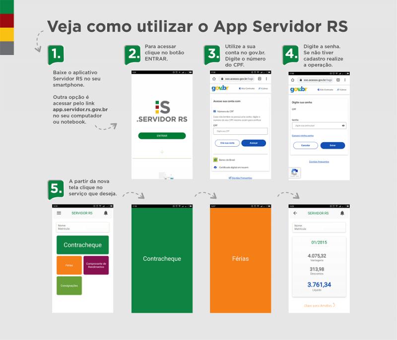 passo a passo app servidor