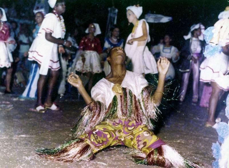 Carnaval de rua década de 1970   Acervo Museu Joaquim Felizardo
