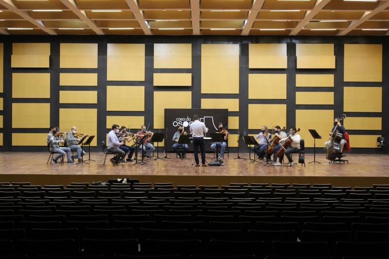 Devido à pandemia, os primeiros concertos ocorrerão com grupos de câmara, apresentando um número reduzido de instrumentistas