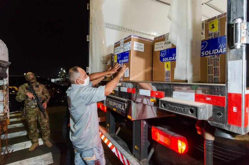 Por questão de logística e conservação, essa primeira remessa será utilizada apenas em Porto Alegre