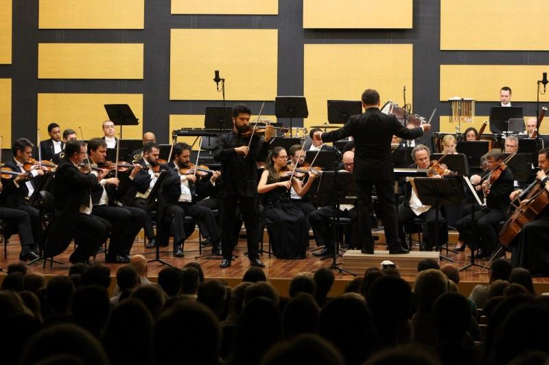 """Estreia da nova temporada do programa """"Obra prima"""", na TVE, apresenta o violinista chinês Yang Liu com a Ospa"""
