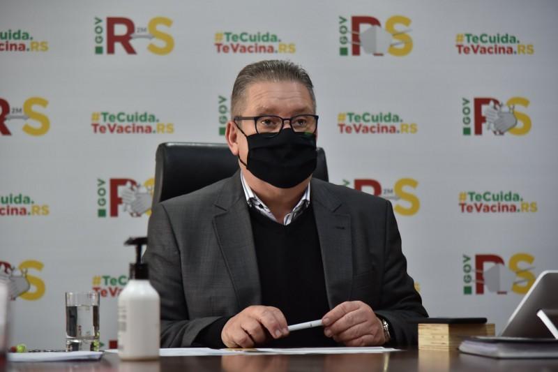 O vice-governador Ranolfo conduziu a reunião do Gabinete de Crise