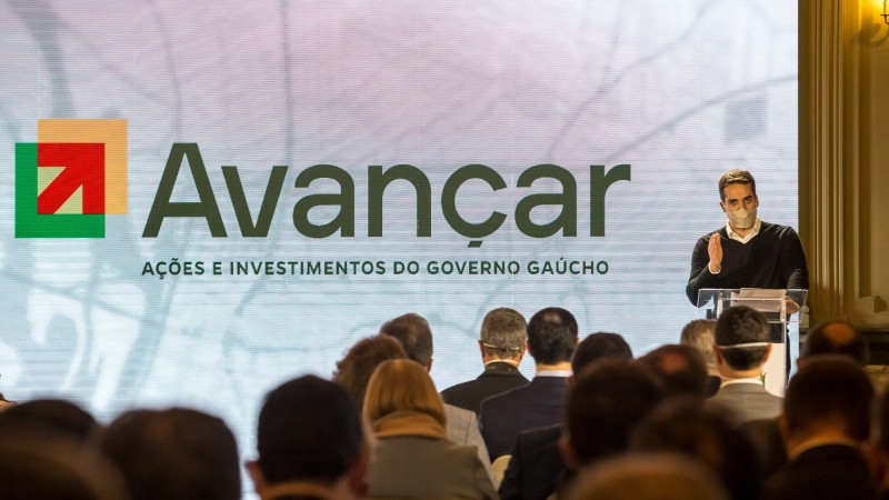 PORTO ALEGRE, RS, BRASIL, 09.06.2021 - Lançamento de programa de desenvolvimento. Fotos: Gustavo Mansur/ Palácio Piratini