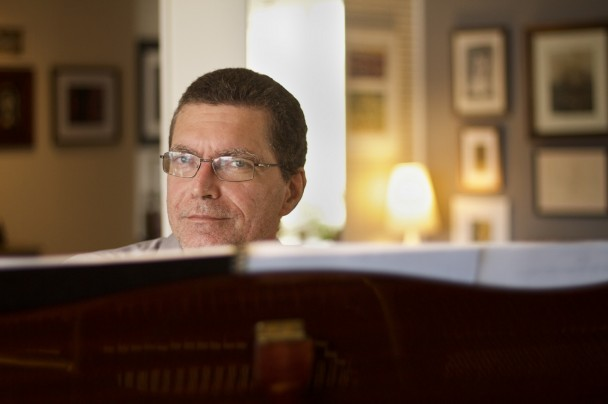 André Carrara é pianista da Ospa desde 2004