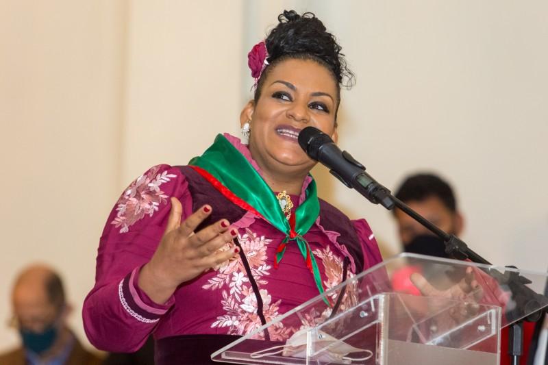 A declamadora Liliana Cardoso é a patrona dos Festejos Farroupilhas de 2021
