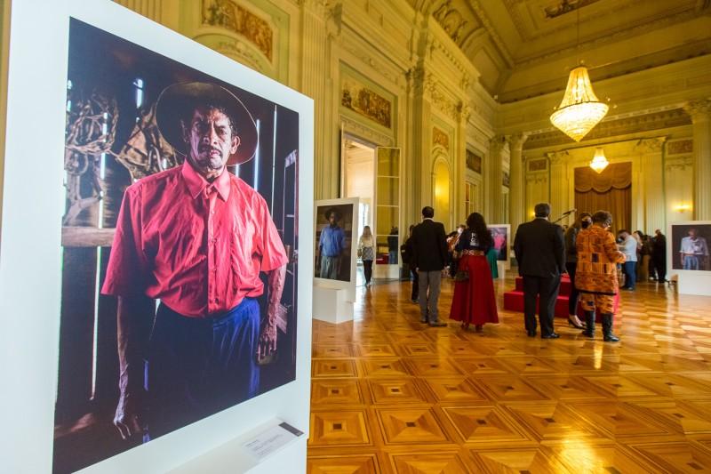 PORTO ALEGRE, RS, BRASIL, 14.09.2021 - Acendimento da Chama Crioula e abertura da exposição fotográfica